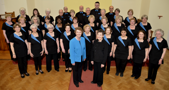 Harrow Harmony with Conductor Hilary Musgrave and Accompanist Anna Lightbown (May 2016)