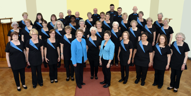 Harrow Harmony with Conductor Hilary Musgrave and Accompanist Anna Lightbown (June 2018)